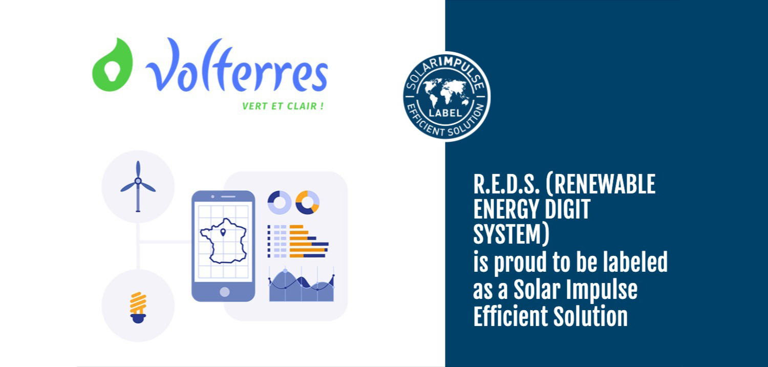 R.E.D.S (by Volterres) is proud to be labeled as a Qolar Impulse Efficient Solution